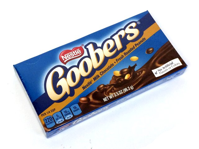 Goobers - 3.5 oz theater box