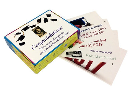 Personalized Graduation Decade Gift Boxes