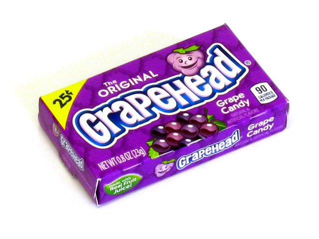Grapeheads - 0.8 oz box - box of 24