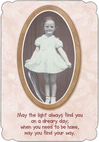 Friendship Card - May the Light Always Find You