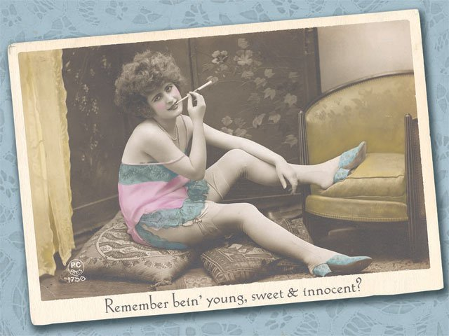 Birthday Card - Remember Being Young