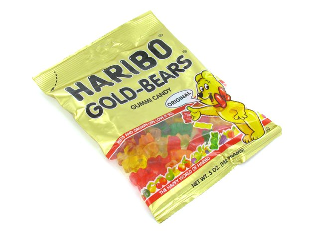 Haribo Gold Bears - 5 oz bag - box of 12