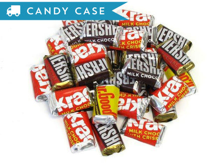 Hershey's Kisses - bulk 25 lb case (2375 ct)