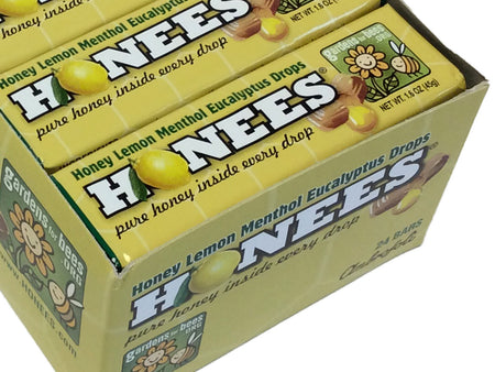 Honees Lemon Drops - 1.6 oz pkg - box of 24