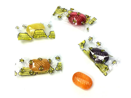 Honey-Filled Assorted Fruit Candies