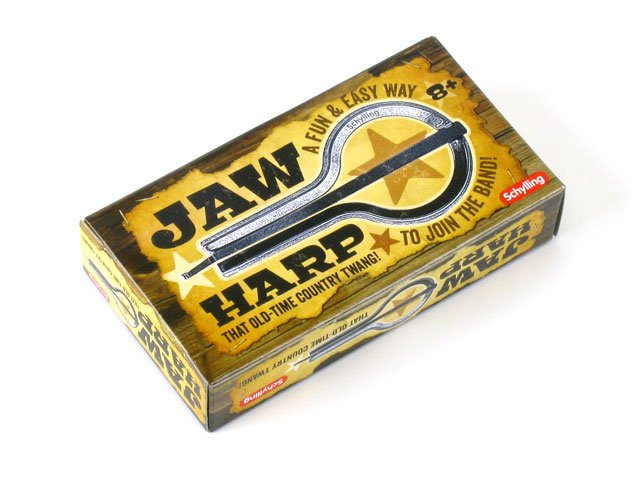 Metal Jaw Harp - Old-Time Twang