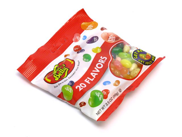 Jelly Belly 3.5 oz bag of 20 flavors