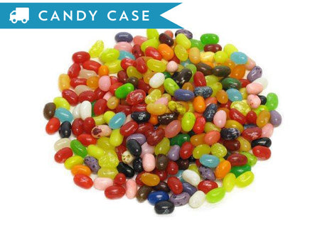 Jelly Belly 49 flavors - bulk 10 lb case (3875 ct)