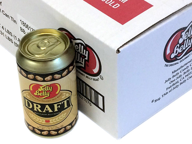 Jelly Belly - 1.75 oz Draft Beer Tin Can - box of 12