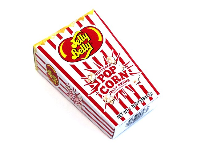Jelly Belly 1.75 oz Buttered Popcorn Gift Box