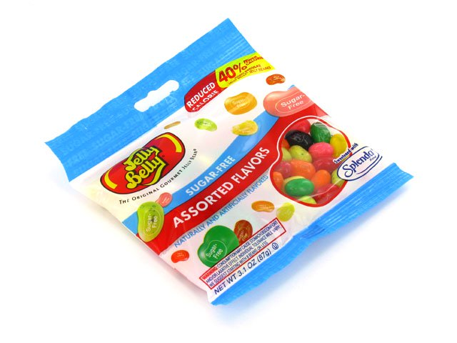 Jelly Belly - sugar-free 2.8 oz bag of assorted flavors