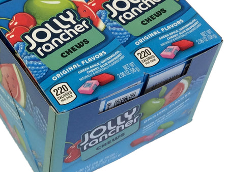 Jolly Ranchers Chews - 2.06 oz - box of 12