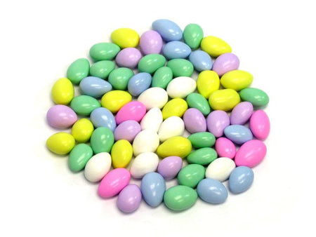 Jordan Almonds Assorted Colors - Bulk 3 lb bag (491 ct)