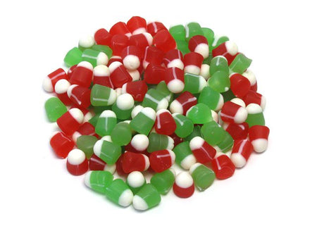 Ju Ju Christmas Bells - bulk 2 lb bag (290 ct)
