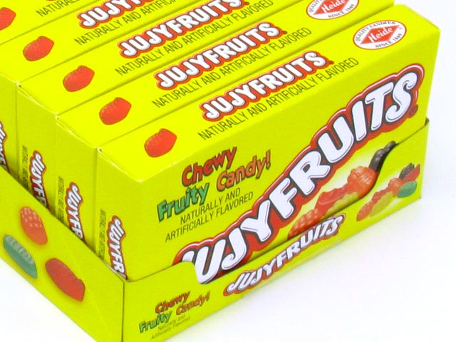 Jujyfruits - 5 oz theater box - case of 12