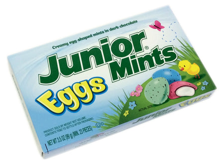 Junior Mints Easter Eggs - 3.5 oz theater box