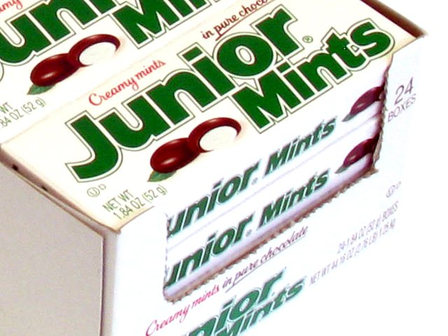 Junior Mints - 1.8 oz box - box of 24 boxes (Candy)
