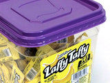 Laffy Taffy - bite-size banana - tub of 145