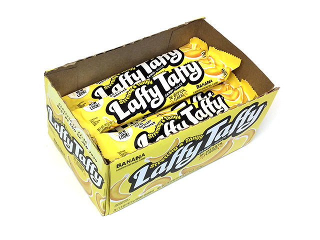 Laffy Taffy 1.5 oz Banana Bar - box of 24