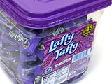 Laffy Taffy - bite-size grape - plastic tub of 145