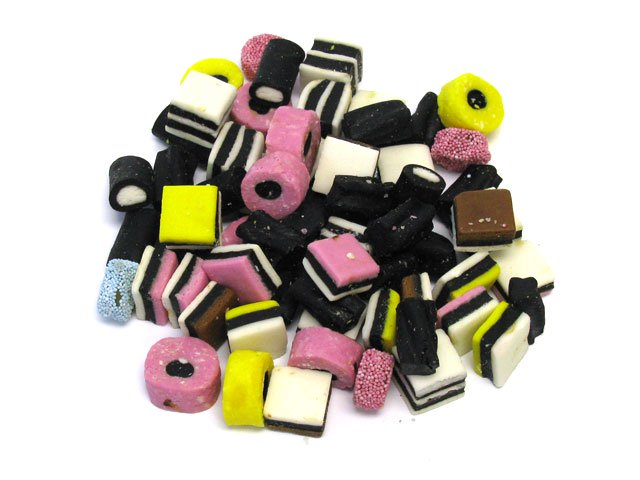 Licorice Allsorts - Bulk