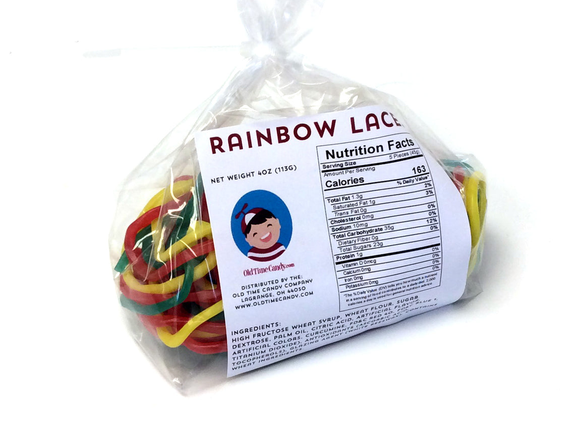 Rainbow Laces - 4 oz bag (13 ct)