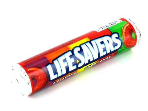 life savers 5 flavors 1 roll