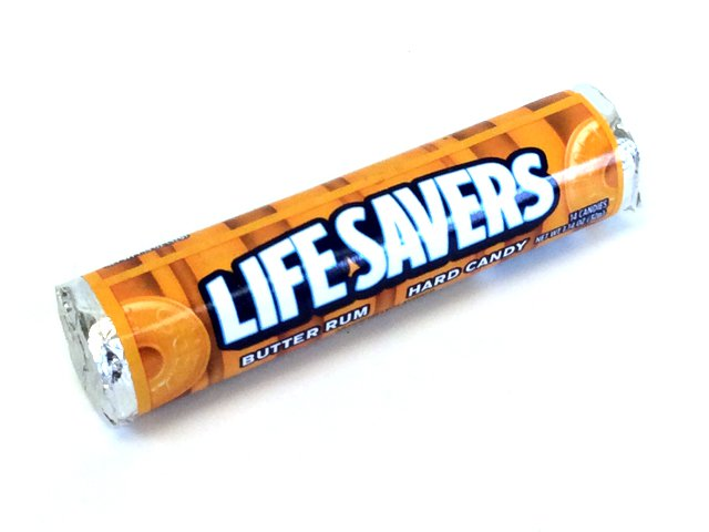 Life Savers - Butter Rum - 1 roll