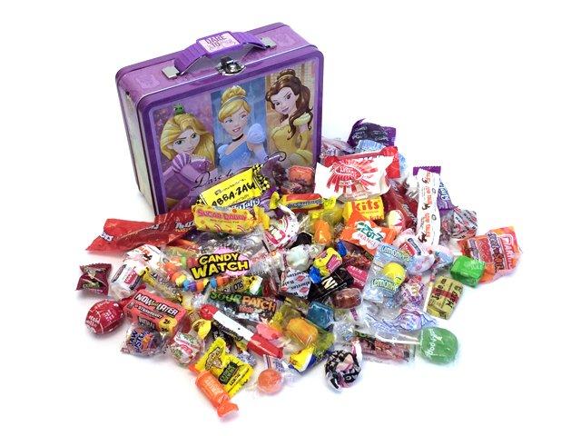 Penny Candy Assortment: 1.75 lbs and over 100 candies