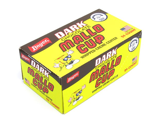 Mallo Cups Dark - 1.5 oz 2-pack - box of 24