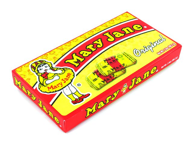 Mary Janes - 3.5 oz theater box - case of 12