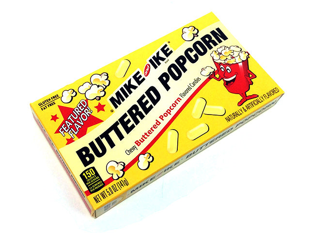 Mike & Ike Buttered Popcorn - 5 oz theater box