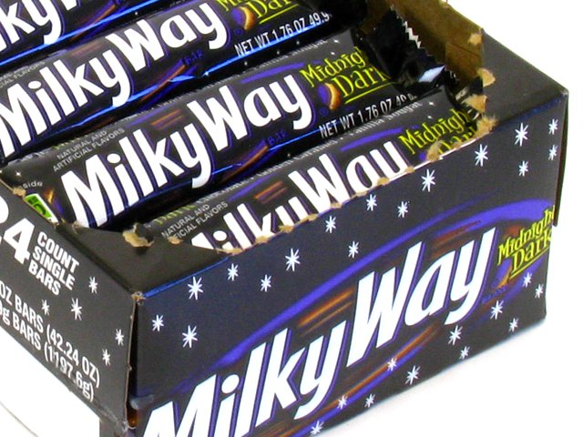 Milky Way Midnight (Forever Yours) - 1.76 oz bar - box of 24 (Candy)