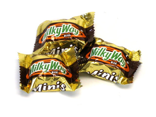 Milky Way Mini Bars - Bulk 3 lb bag (156 ct)