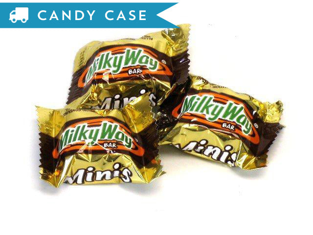 Milky Way Mini Bars - bulk 20 lb case (1040 ct)