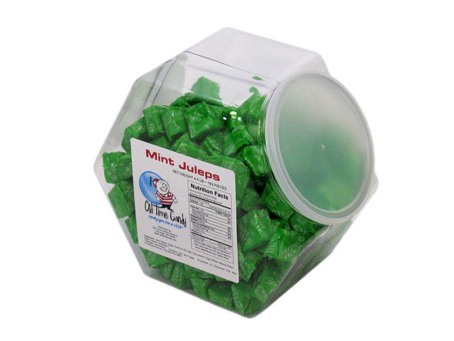 Mint Juleps - 4.5 lb Plastic Tub (183 ct)
