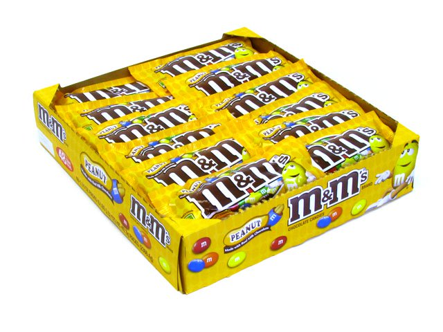 M&M's Peanut - 1.74 oz pkg - box of 48