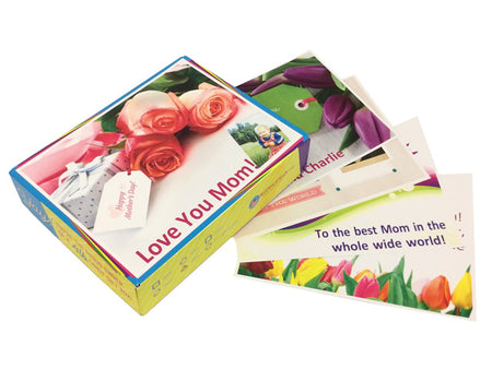 Personalized Mother's Day box tops