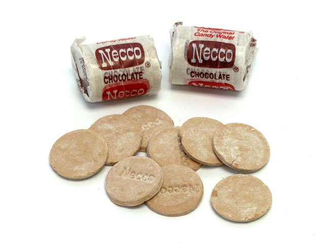 Necco Wafers - Chocolate Mini Roll - Bulk