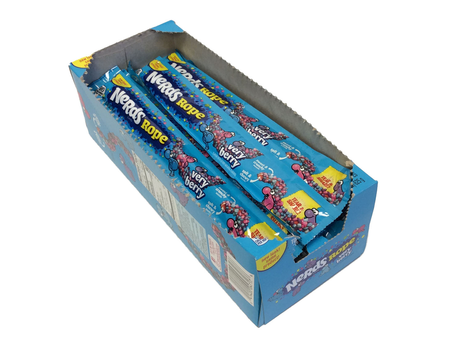 Nerds Ropes - 0.92 oz Very Berry - box of 24
