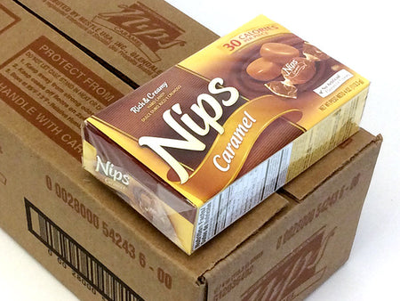 Nips - Caramel - 4 oz box - case of 12