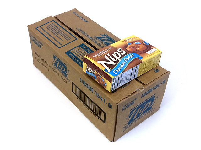 Nips - Chocolate Parfait - 4 oz box - case of 12
