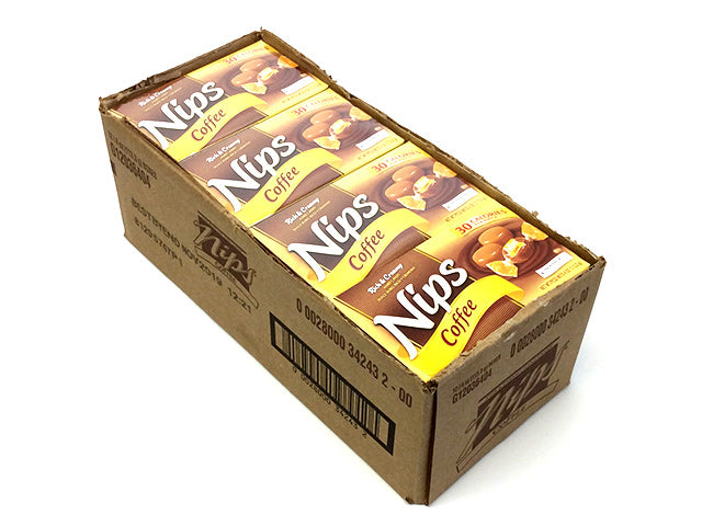 Nips - Coffee - 4 oz box - case of 12
