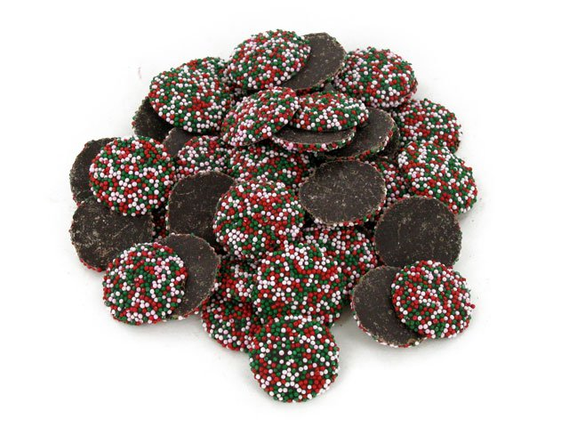 Christmas Nonpareils - bulk 2 lb bag (225 ct)