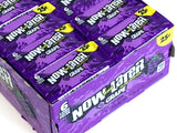 Now & Later - grape - 0.93 oz pkg - box of 24