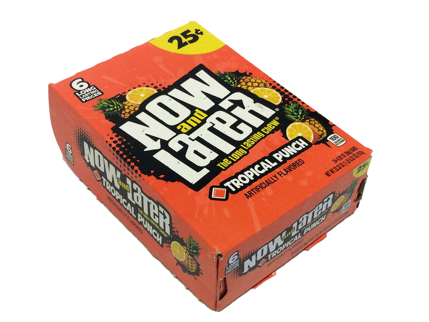 Now & Later - tropical punch - 0.93 oz pkg - 6-pack