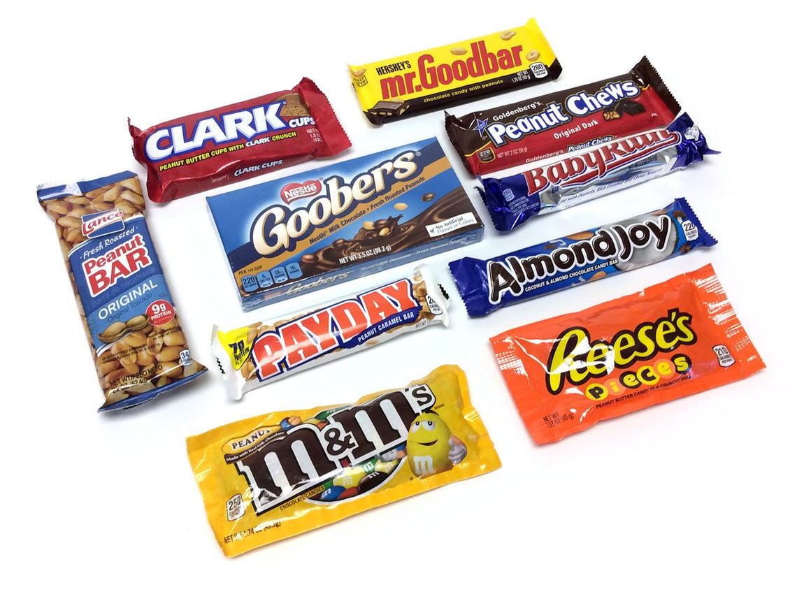 Nut Candy Lovers Gift Box assortment
