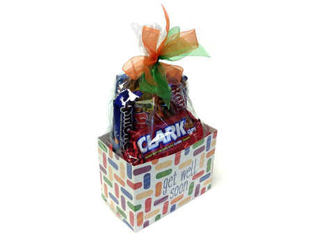 Nut Candy Lovers Gift Box - Get Well Soon