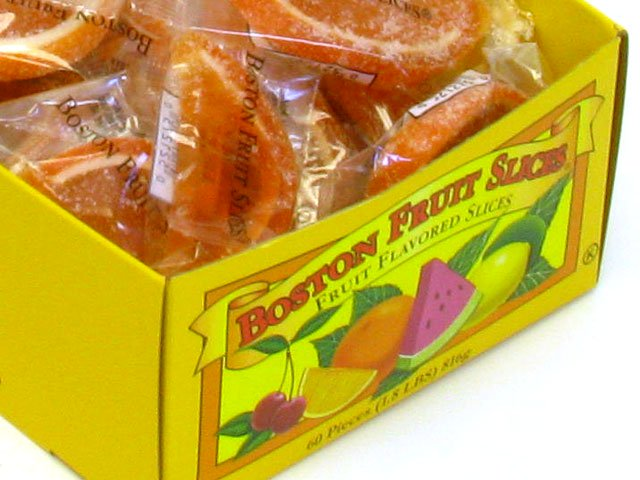 Orange Slices by Boston Fruit - box of 60