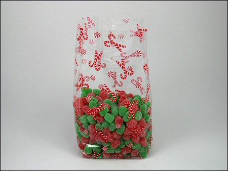 Party Favor Bags - Candy Canes
